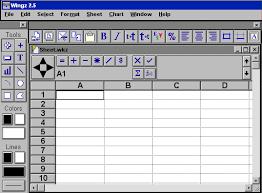 perangkat lunak pengolah angka