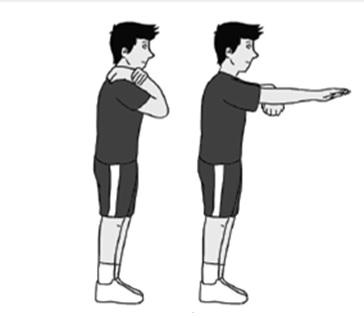 Latihan-kelenturan-statis-siku