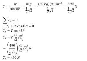 jawaban 2 keseimbangan benda tegar