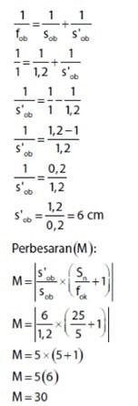 jawaban diagram optik