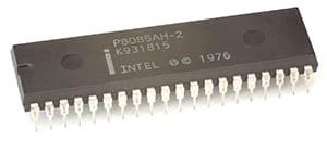 intel microprocessor 8085