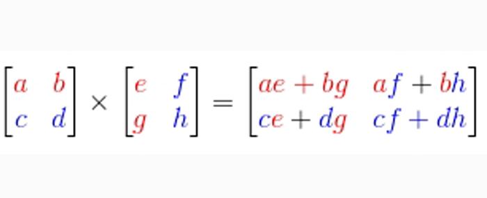 Perkalian Matriks Pengertian Rumus Dan Contoh Soal Haloedukasi Com