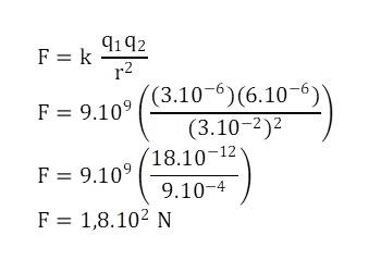 Contoh Soal 2 Hukum Coulomb