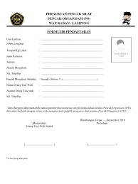 Formulir Pendaftaran dan Alat Tulis