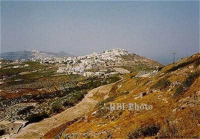 Gunung Thera, Yunani