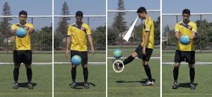Memulai Juggling dengan Bola di Tangan