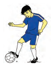Mengontrol Bola Menggunakan Telapak Kaki