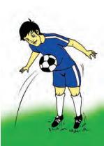 Mengontrol Bola Menggunakan Perut