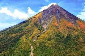 Gunung Mayon, Filipina