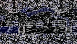 Batik Motif Kali Ciliwung