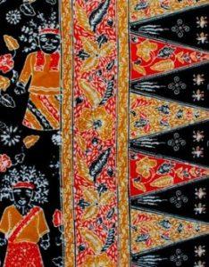 Batik Motif Ondel-Ondel