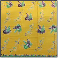 Batik motif Topeng Betawi