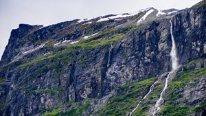 Air Terjun Vinnufossen, Norwegia