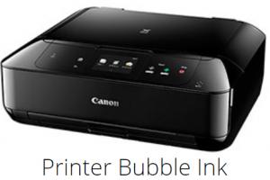 Printer bubble ink